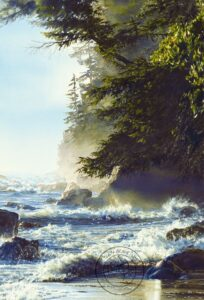 Carol Evans Afternoon High Tide