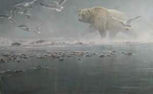 Robert Bateman Above The Rapids