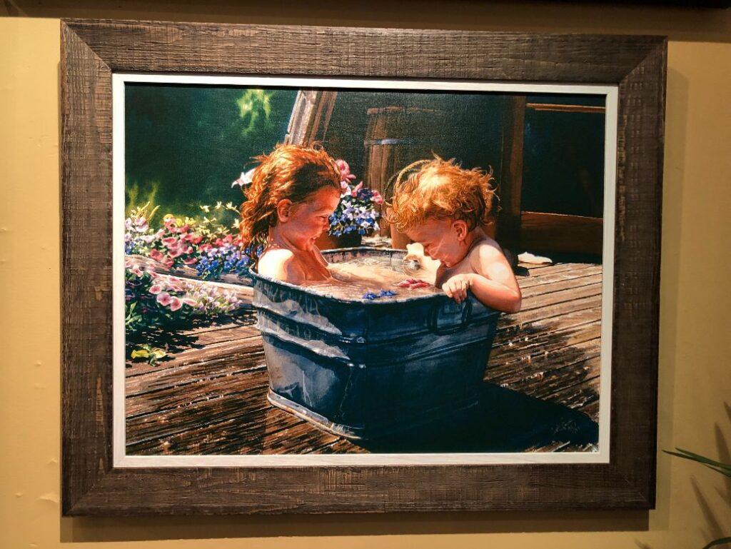 custom framing gallery Carol Evans