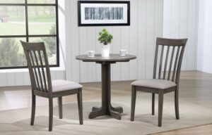 Delfini 30 in Round Pedestal Table