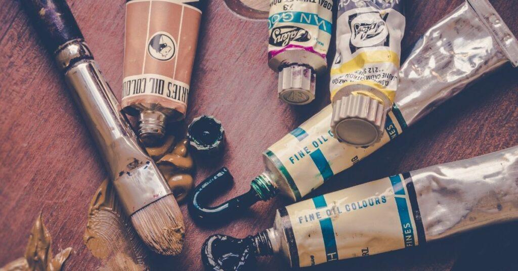 oil paint art terminology